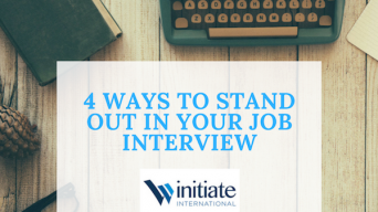 4 Ways to stand out in your job interview