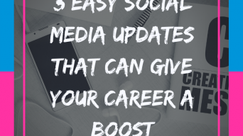 3 Easy social media updates that can give your career a boost